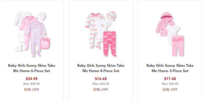 feac508ccad40 今日本のママたちにも注目されているアメリカのプチプラ子ども服ブランド。普段使い用の上下セット、お出かけ用のおしゃれ着、フリフリのスカートからキラキラした小物  ...